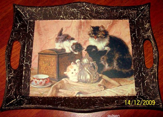 ahsap-boyama-catlatma-kedi-resmi