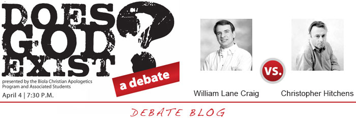 Does God Exist Debate