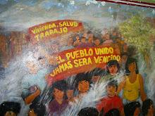 MURAL EN BARRIO POPULAR DEL PERU