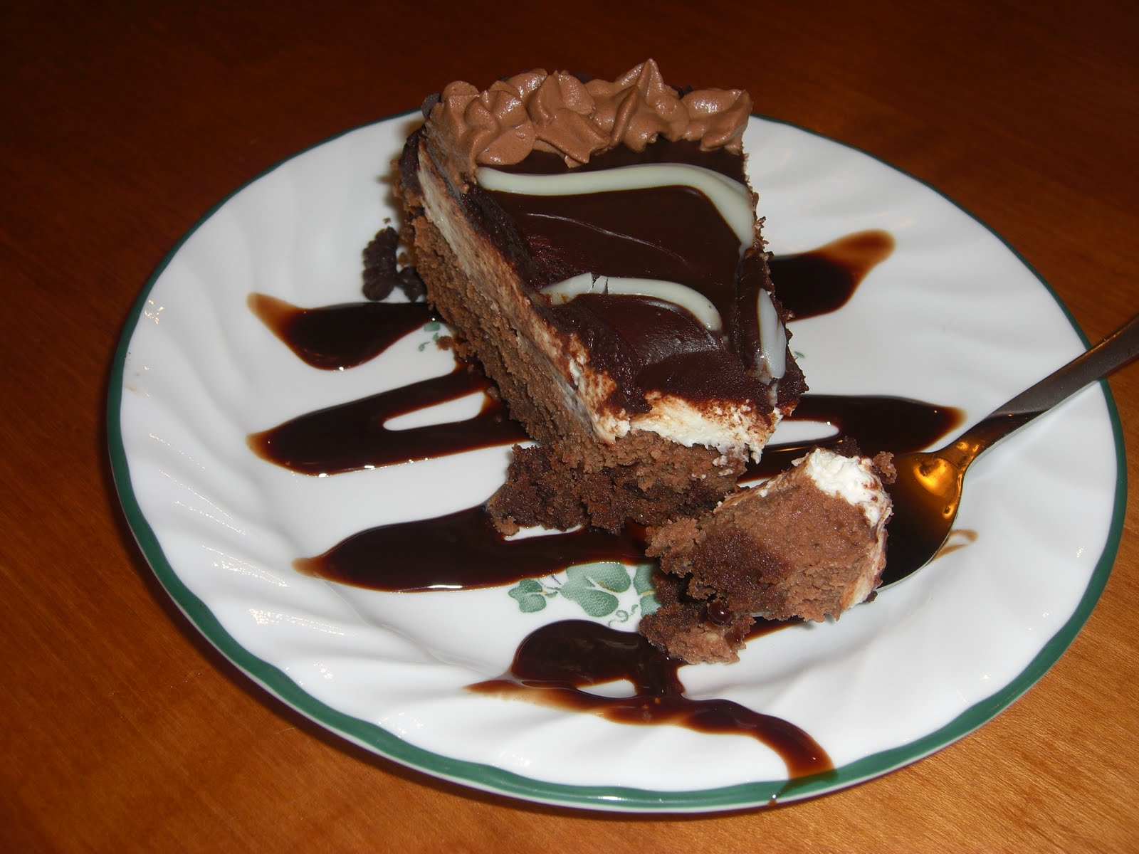epicurable black tie mousse cake