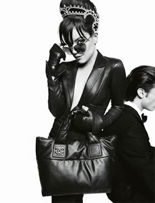 lily allen chanel. Lily Allen for Chanel handbags