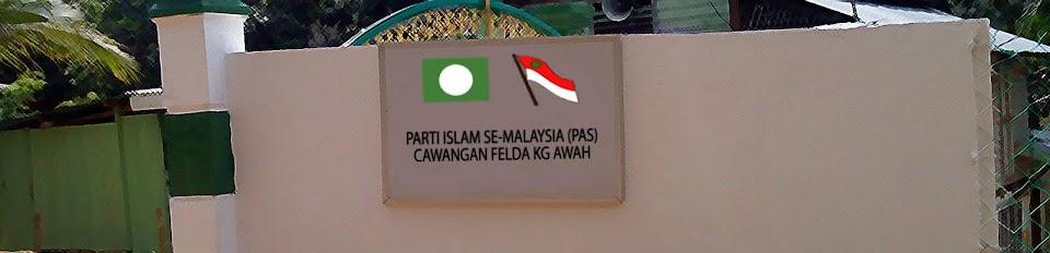 : :PAS Cawangan Felda Kg Awah, Pahang: :