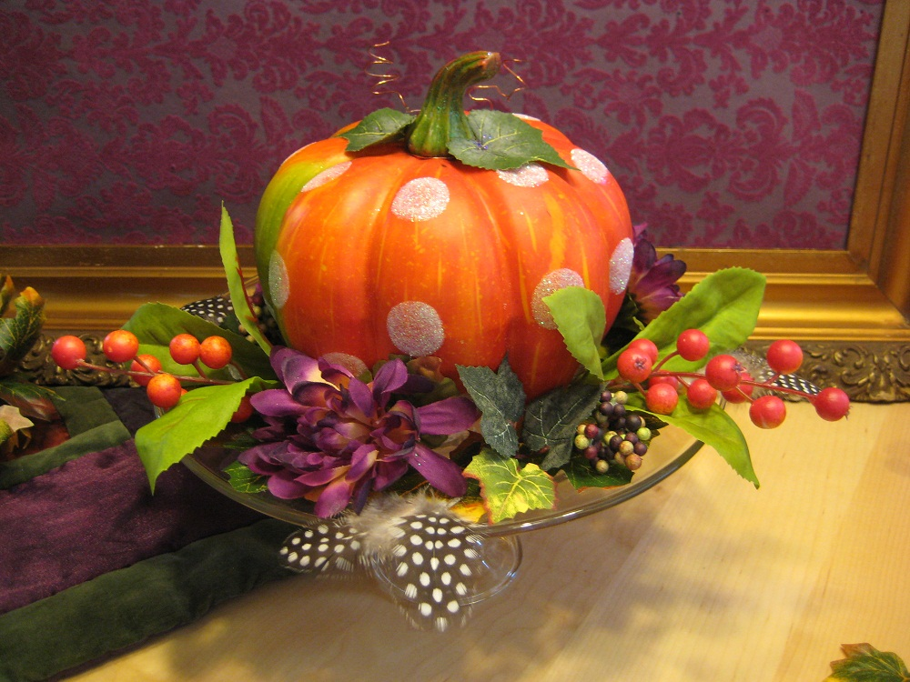 Noble Studios Ltd Easy Fun And Cheap Fall Table Decoration