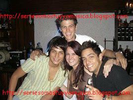 Aran, Hendrick, Luciano y una Amiguis osea!!