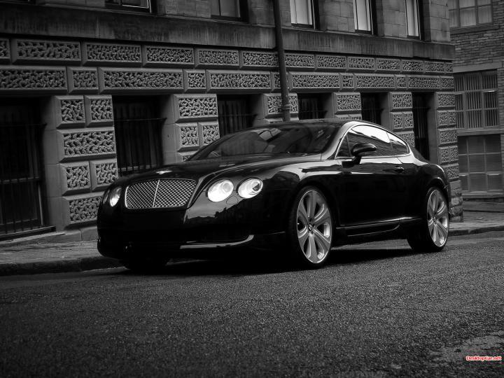 Car Bentley Continental GT Black