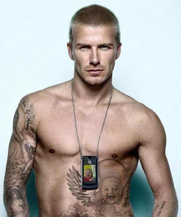 david beckham tattoos pictures images. david beckham tattoos meanings