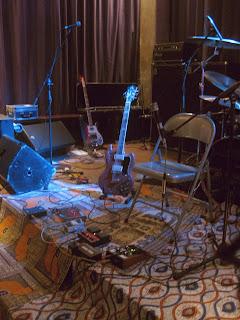 Guitar and surroundings