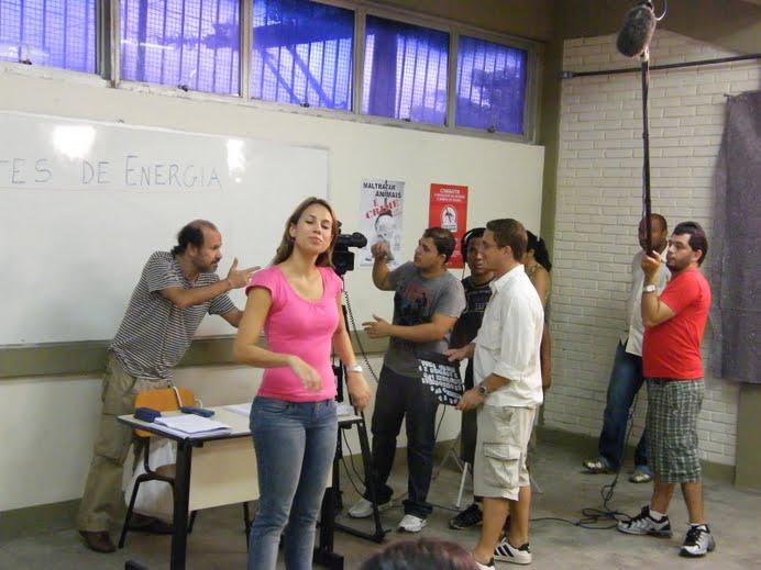 GRAVAÇÃO DE COMERCIAL PARA GOVERNO DO ESTADO COM ALUNOS DA CAP ESCOLA DE TV EM SALVADOR