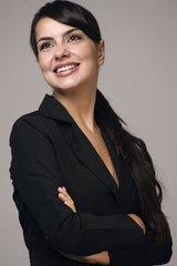 Liz Lucidi, apresentadora da campanha de Paulo Souto