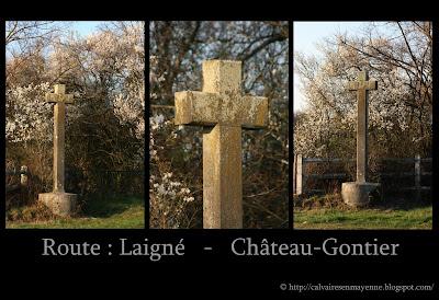 Les calvaires de Mayenne en images