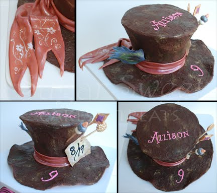 Mad Hatter Hat The Mad Hatter Hat Cake is One