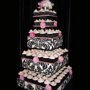 Decorating Wedding Cupcakes