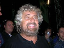Beppe Grillo en Europa con sus luchas