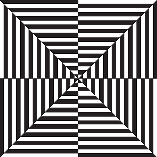 OP ARTEasy Black And White Op Art
