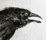 Calling Crow... Rhyme and Watercolor