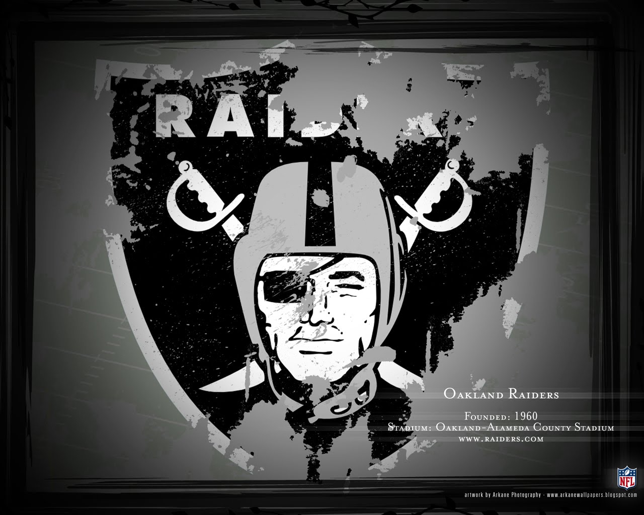 Arkane Nfl Wallpapers Profile Oakland Raiders