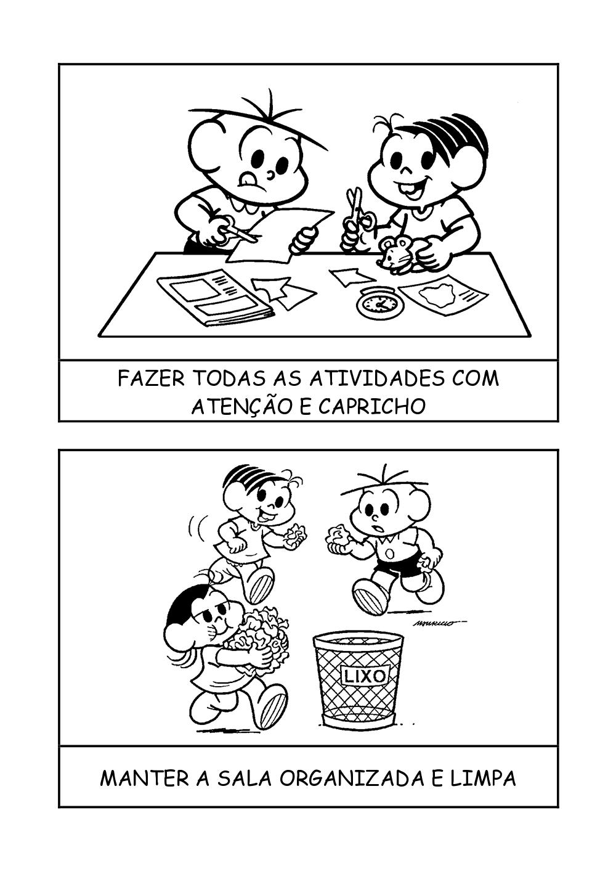 COMBINADOS TURMA DA M  NICA