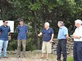 2009 Junho - Comemoração do 4º Encontro do Dia do Sol do Padre Himalaya, em Sorède, França.