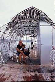 2001 - Travessia num barco solar - Alemanha