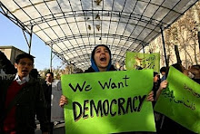 we want democracy