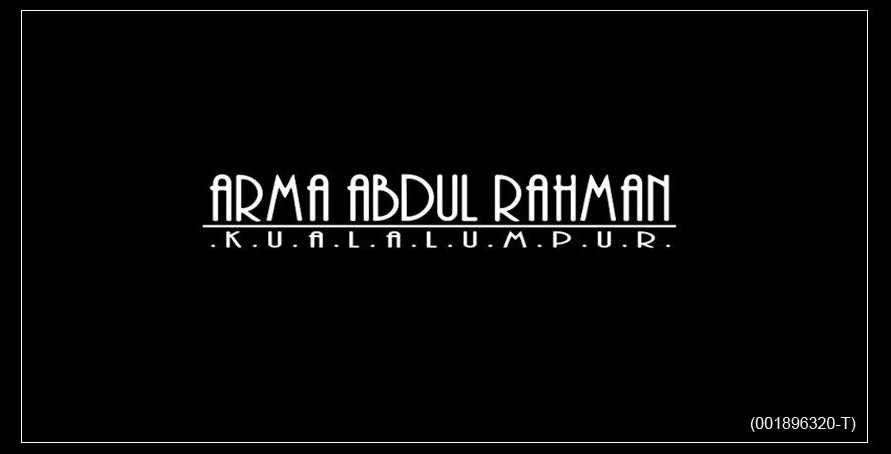 ARMA ABD RAHMAN WEDDING COUTURE