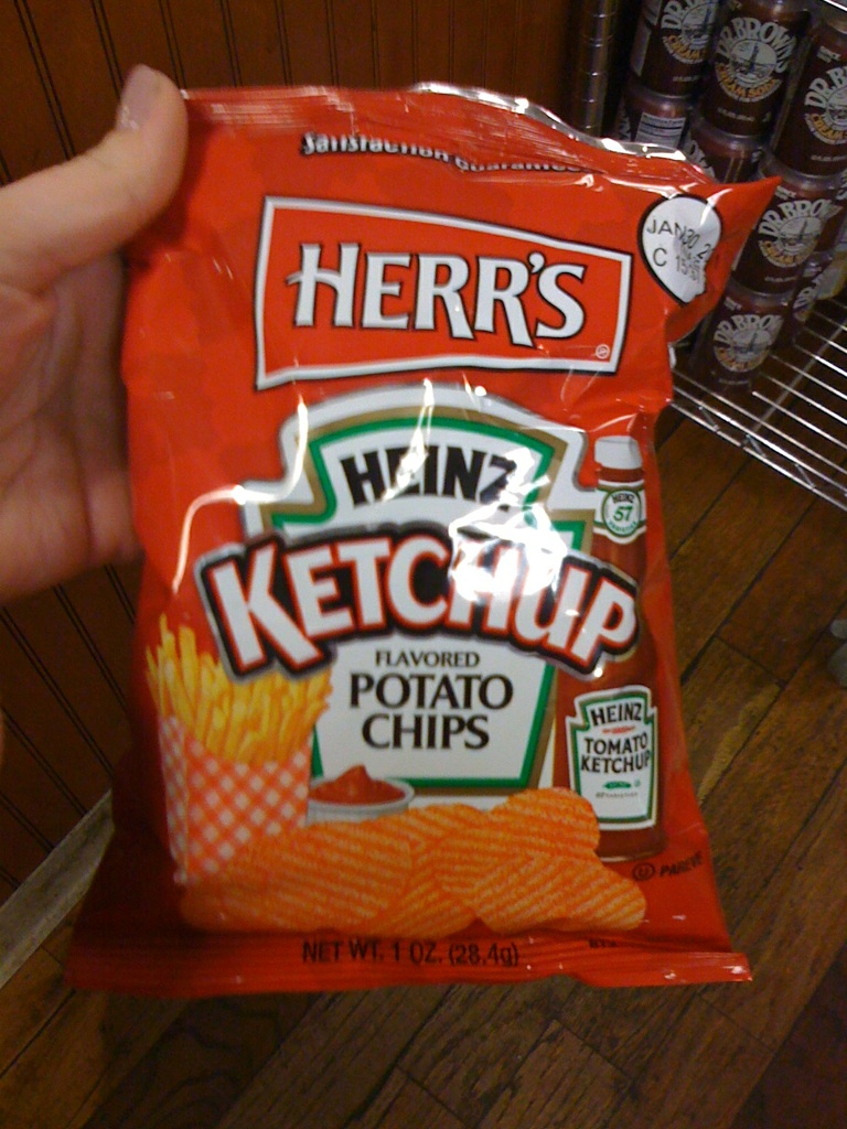 Gastronome Guild: Ketchup Chips Revisited