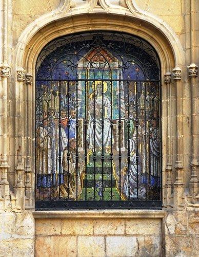 virgen de la capilla en jaen: