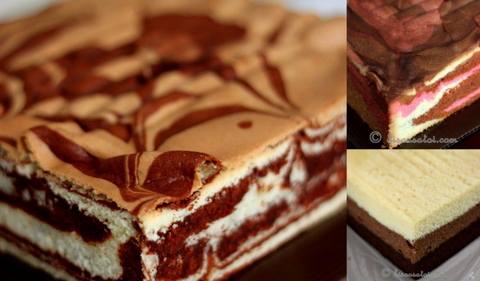 Кекс мраморный в мультиварке рецепт