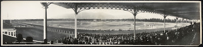 View from the grandstand at old Santa Anita, circa 1908