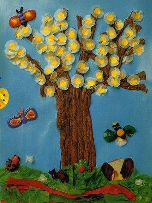 Cantinho da profe sheila projeto primavera for Mural de natal 4 ano