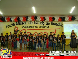 FORMATURA DO PROERD