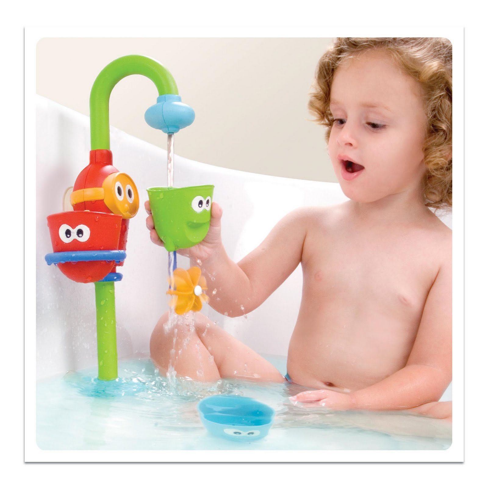 Pearland Toy Man: Review: Bath Time: Flow and Fill Spout