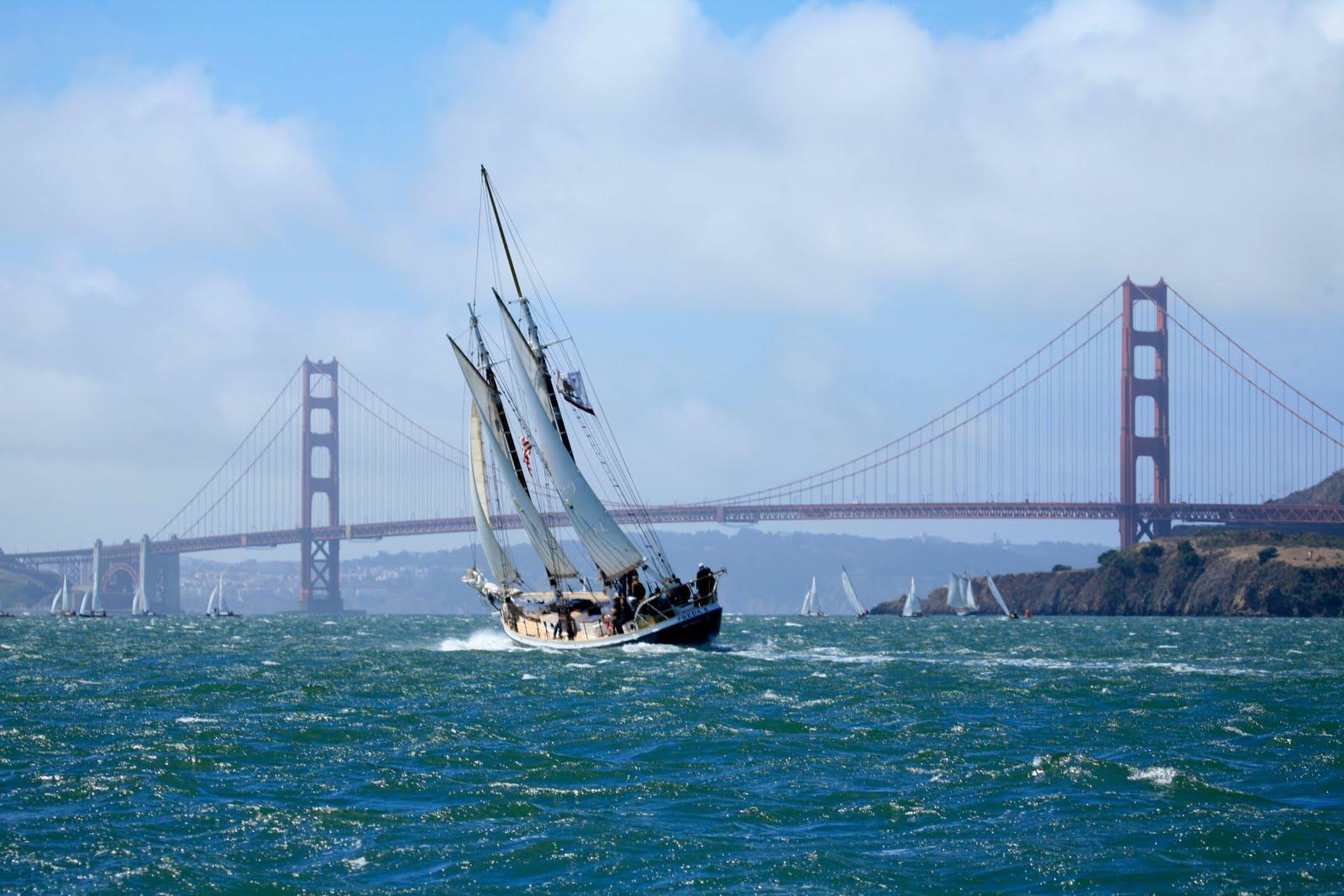 Golden Gate Bridge - Magazine cover