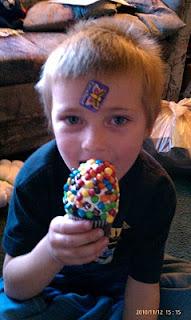 One huge cupcake