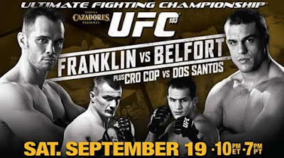 UFC 103 Fight Card: Franklin vs Belfort