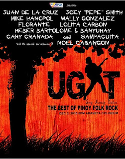 UGAT The Legends of Pinoy Rock Concert