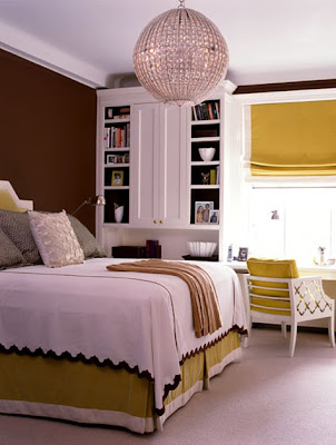 Lean more towards golden and olive yellows if you want to create a refined and stylish interior