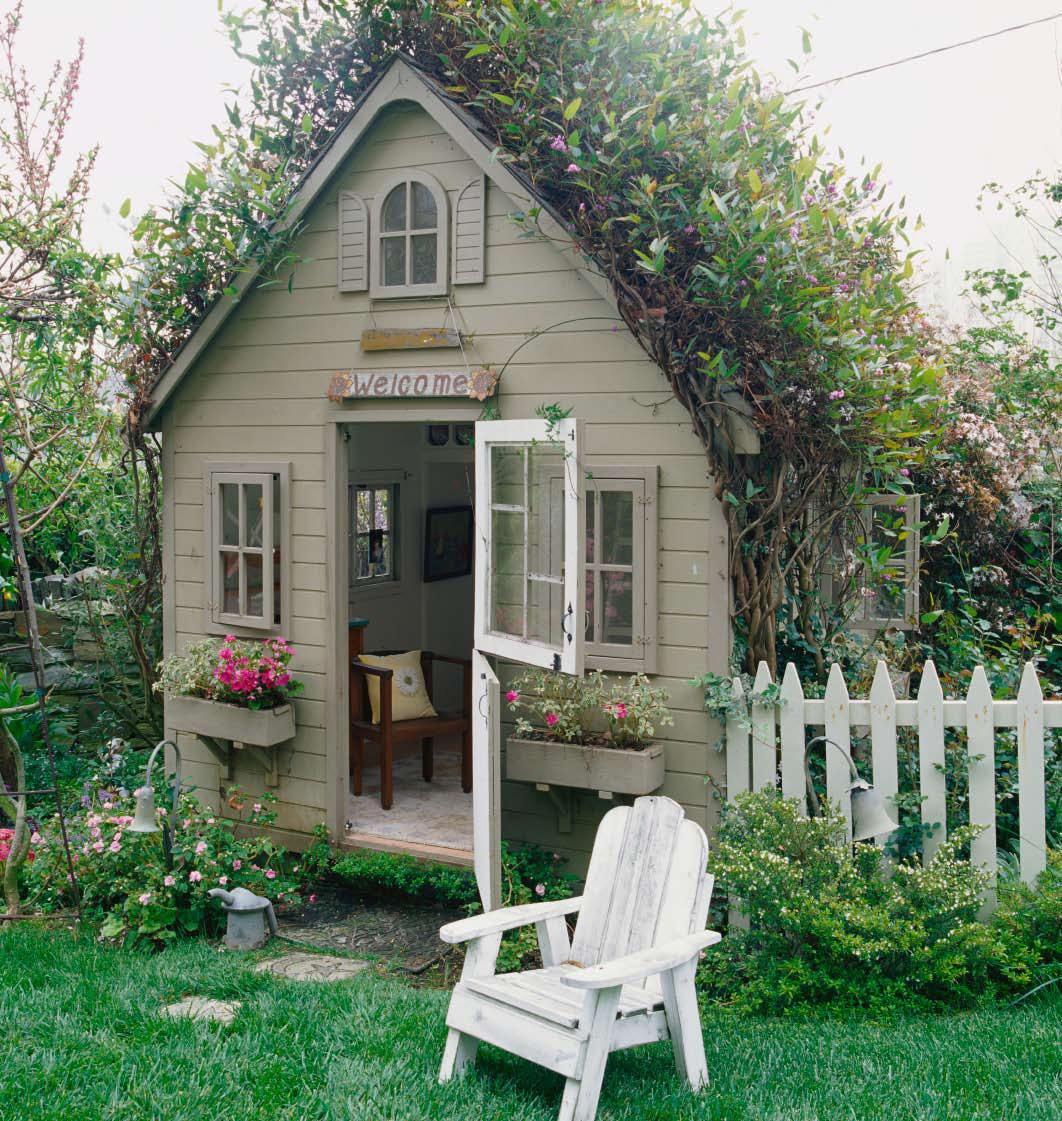 Дача маленький домик