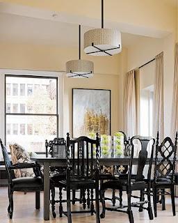 belle maison lighting trends for the dining room