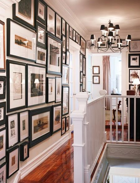 Belle maison hallway decor inspiration for Hallway wall decor