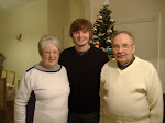 Karl with his grandparents