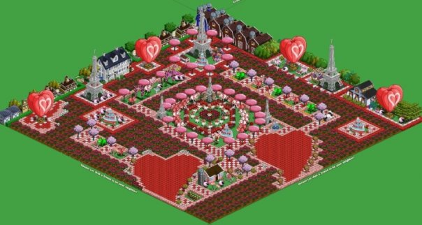Master farmville farmville valentine themed farm ideas 2 for Farmville 2 decorations