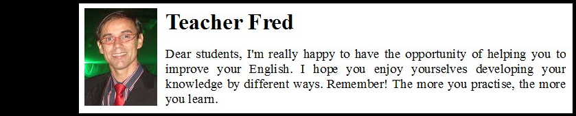 Teacher Fred