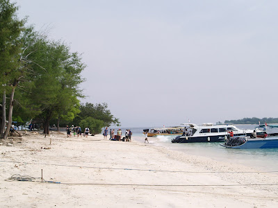 Gili Trawangan on Pelabuhan Pendaratan Di Pulau Gili Trawangan