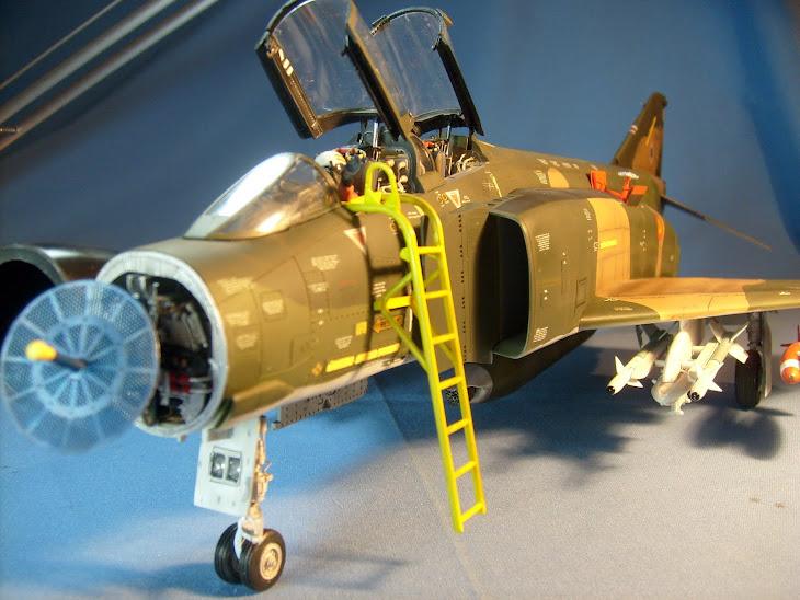"""F4C Phantom II Ala 12 """"Ejército del aire"""""""