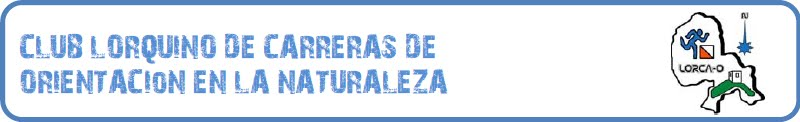 CLUB LORCA-ORIENTACIÓN