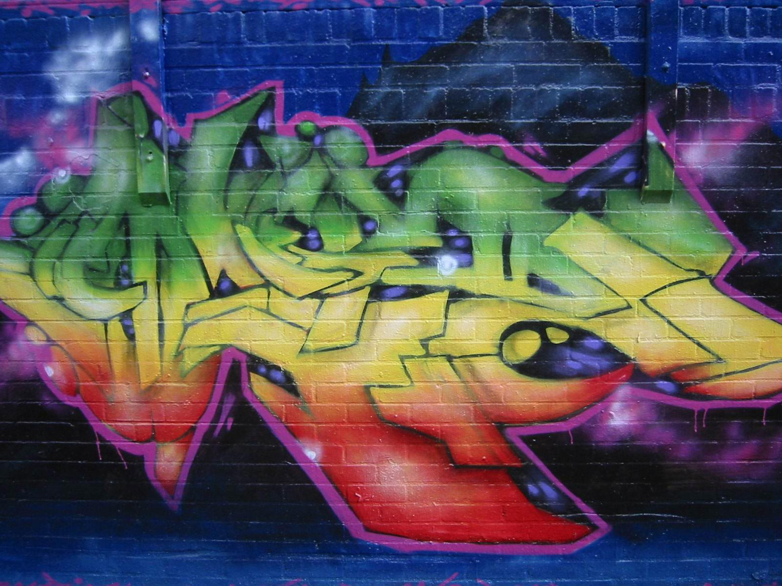 Graffiti Art Wallpaper