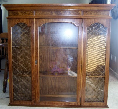 Broyhill China Cabinet: Restored