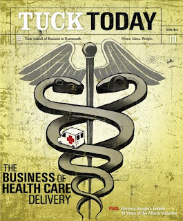 Doug Boehm: Magazine Cover of Tuck Today