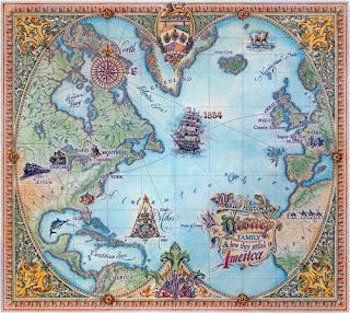 Dave Stevenson, Maps